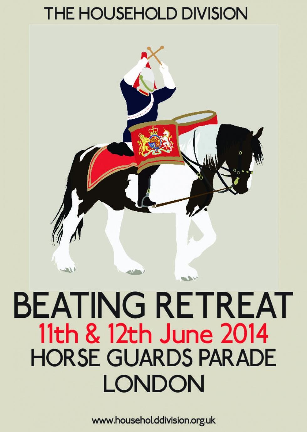 Beating Retreat Horse