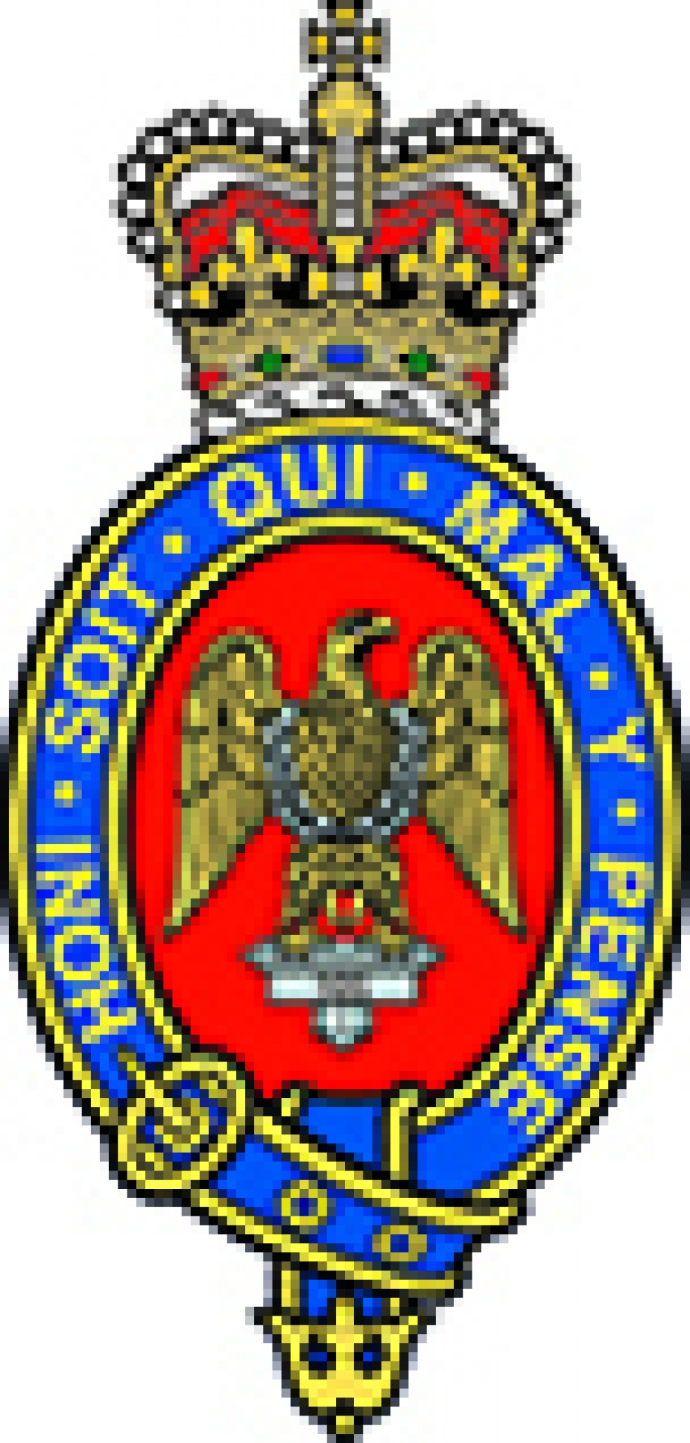 Blues and Royals Regiment Logo