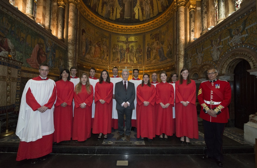 Commemoration Service - The Guards' Chapel - The Household