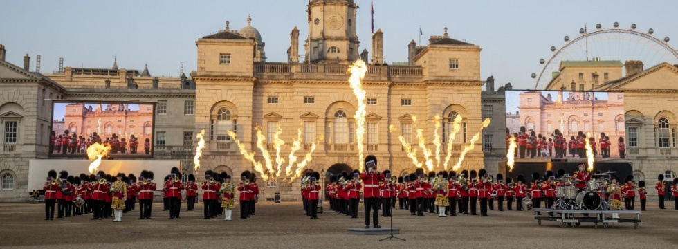 Beating Retreat - Ceremonial Events - The Household Division
