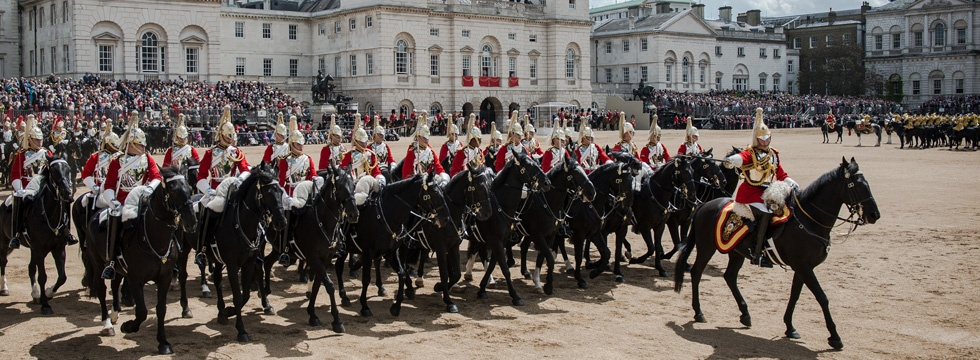 Trooping the Colour - Ceremonial Events - The Household