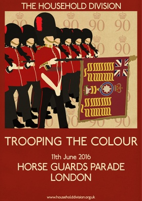2016 Trooping the Colour