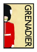 Grenadier Guards - A3 size