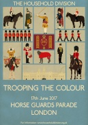 Trooping the Colour 2017 - A3 size